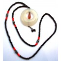 Necklace with agate pendant A