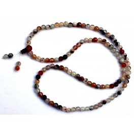 Agate necklace (216 beads)