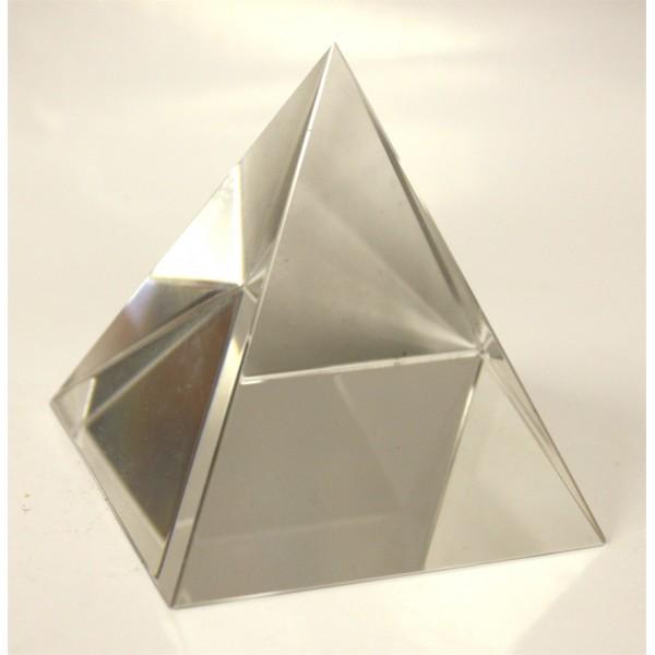 Пирамида стеклянная 55 мм высотой - zodiac