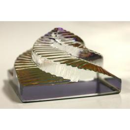 Пирамида стеклянная ступенчатая мм высотой