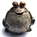 Статуэтка-шкатулка металлическая Жаба большая Б