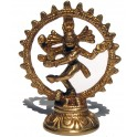 Brass statuette of the Shiva (middle size)