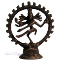 Brass statuette of the Shiva