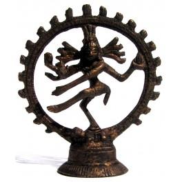 Brass statuette of the Shiva