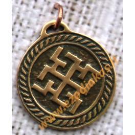 Amulet of bronze Nr. 3 Duhobor