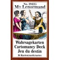Таро карты Lenormand. Wahrsagekarten Cartomancy deck 36 card
