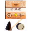 """Incense-cones """"NATARAJA"""" (musk masala cones)"""