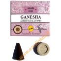 """Incense-cones """"GANESHA"""" (Amber masala cones)"""