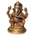 Brass statuette of the GANESHA Nr. 5