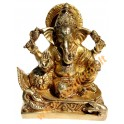 Brass statuette of the GANESHA Nr. 9