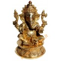 Brass statuette of the GANESHA 4