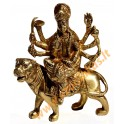 Brass statuette of the DURGA