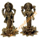 Brass statuette of the LAKSHMI & VISHNU
