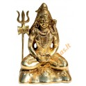 Brass statuette of the big SHIVA