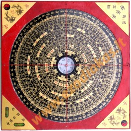 Feng Shui Compass square 190 mm