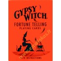 Kortos GYPSY WITCH FORTUNE TELLING CARDS