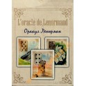 Cards Oracle Lenormand. Golden flowers. (36 cards + Russian instruction)