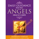 """Doreen Virtue """"Daily guidance from your ANGELS"""" (44 carda)"""