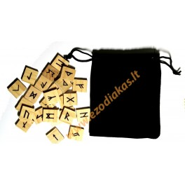 Wooden Runes (pine)