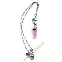 Rose quartz Pendulum-Suspension