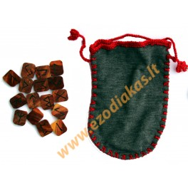 Wooden Runes (pear)
