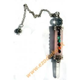 Rose Quarz Pendulum-Suspension