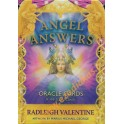Angel Answers oracle cards / Radleigh Valentine