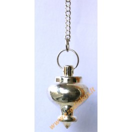 Steel pendulum with rudraksh on a chain Nr. 12