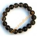 Smoky quartz bracelet Nr. 1