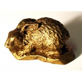 Brass statuette of RABBIT