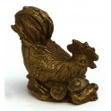 Brass statuette of the ROOSTER