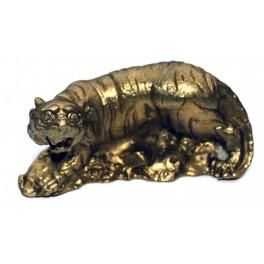 Brass statuette of TIGER