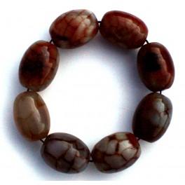 Brown agate bracelet 2