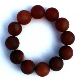 Brown agate bracelet