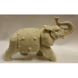 Seven Elephant Figurine