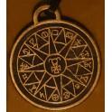 Амулет скандинавский N 16 Каббалистический знак Меркурия
