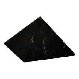 Shungit pyramid with base 32 x 32 mm