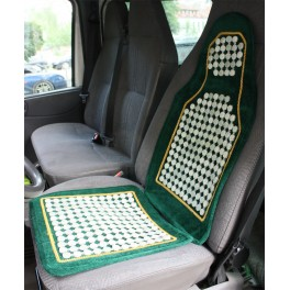 Seat with jade plates