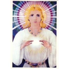 Открытка Все видящее око Бога (ламинированная)