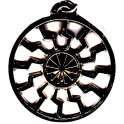 Amulet Nr 24 Черное Солнце