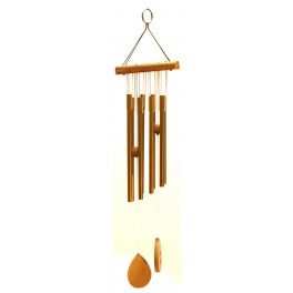 Wind chimes WC9820 yellow colour